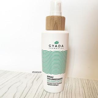 Gyada Cosmetics review verdebio spray volumizzante
