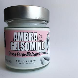 Review Apiarium crema corpo biologica ambra e gelsomino Verdebio