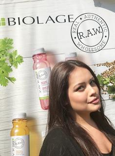 Parrucchiere bio ? Verdebio Biolage Raw #liveraw