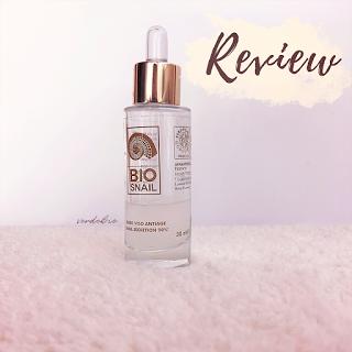 Review BIO Snail | Siero Viso Anti Age verdebio