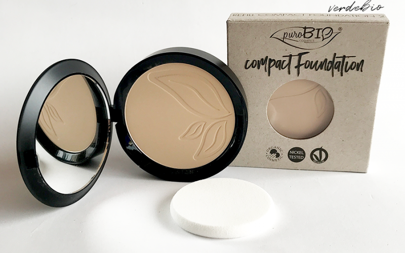 Purobio Cosmetics Compact Foundation Review