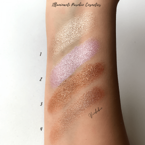 Purobio Cosmetics Primavera/Estate Swatches verdebio