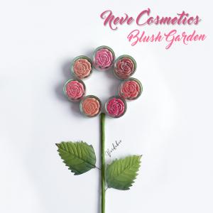 Swatches Blush Garden Neve Cosmetics