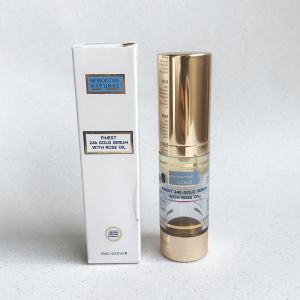 Review Gold Serum 24k with rose oil | MOROCCAN NATURAL