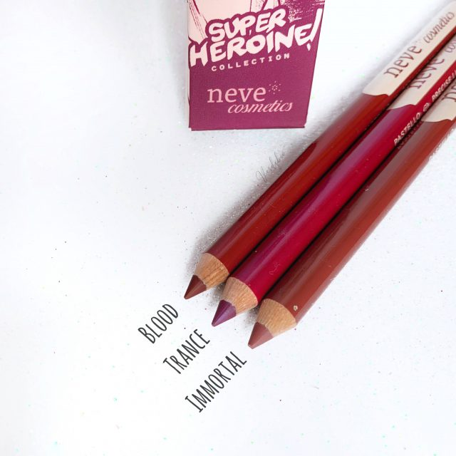 Neve Cosmetics Super Heroine Collection
