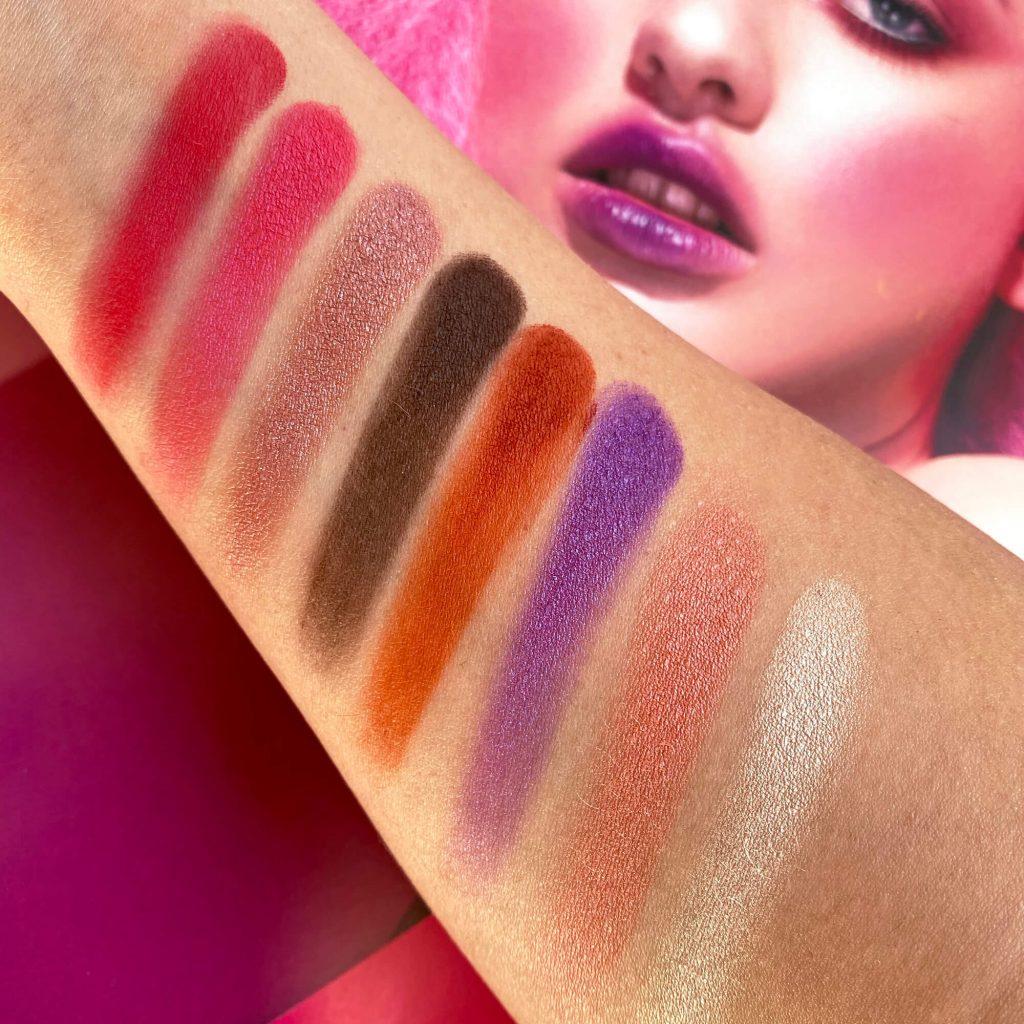 HARAJUKU MEMOIR Palette Neve Cosmetics verdebio